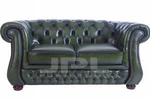 Кожаный диван Karen двухместный с механизмом