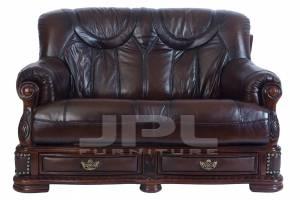 Кожаный диван Oakman двухместный
