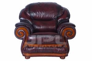 Кожаное кресло Swirl