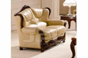 Кожаный диван Brio двухместный