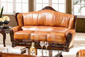 Кожаный диван Olivia трехместный