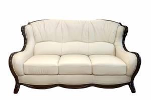 Кожаный диван А-105 трехместный