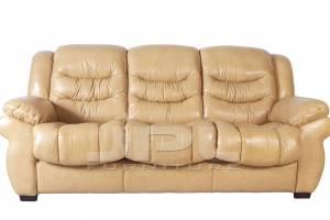 8001 Кожаный диван трехместный