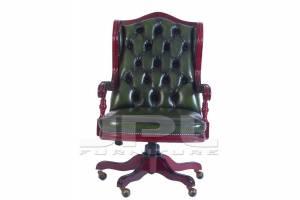 Кожаное кресло К-210
