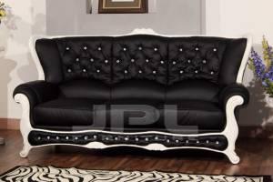 Кожаный диван А-108 трехместный