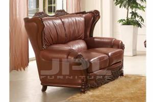 Кожаный диван А-109 двухместный без механизма