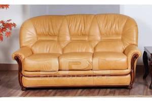 Кожаный диван А-99 трехместный