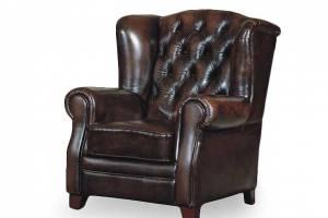 Кожаное кресло William