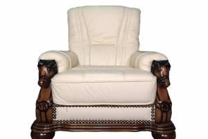 Кожаное кресло Caesar, цвет 05#