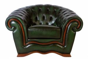 Кожаное кресло Charles, цвет #09