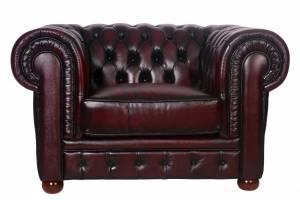 Кожаное кресло Chester, цвет 10#