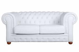 Кожаный диван Chester двухместный с механизмом, цвет 05#