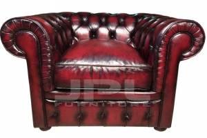 Кожаное кресло Chesterfield, цвет 10#