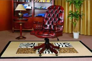 Кожаное кресло К-203 цвет 10