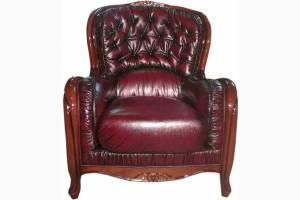 Кожаное кресло Diana, цвет 10#