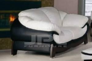 Кожаный диван La Noce двухместный без механизма