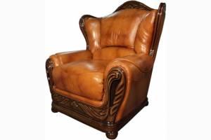 Кожаное кресло Olivia