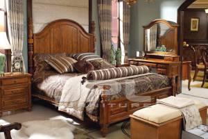 Спальня 9190 из массива ясеня