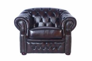 Кожаное кресло Paul, цвет 08#