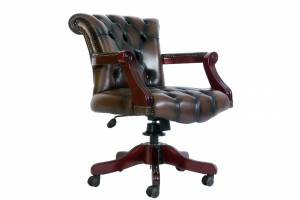 Кожаное кресло К-207, цвет 08#