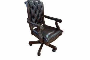 Кожаное кресло К-39