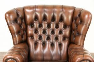 Кожаный диван Vermont трехместный без механизма, цвет 10#