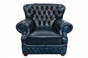 Кожаное кресло Vermont Navi