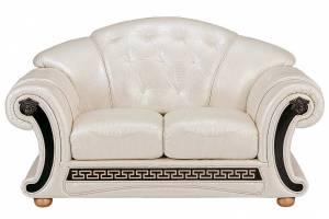 Кожаный диван Versace двухместный, цвет 31#