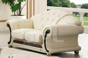 Кожаный диван Versace двухместный