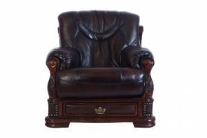 Кожаное кресло Oakman, цвет 08#