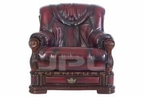 Кожаное кресло Oakman, цвет 10#