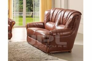 Кожаный диван А-110 двухместный без механизма
