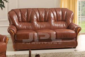 Кожаный диван А-110 трехместный