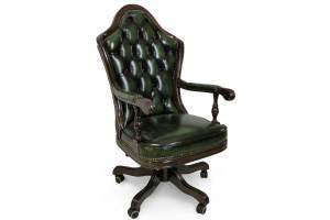 Кожаное кресло К-201, цвет 09#