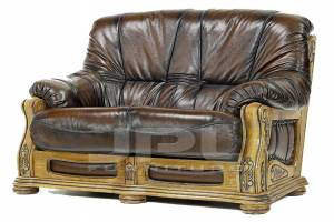Кожаный диван Alexis двухместный