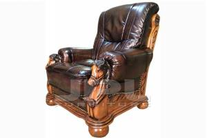 Кожаное кресло Ceasar, цвет 08#