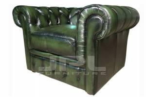 Кожаное кресло Chesterfield, цвет 09#