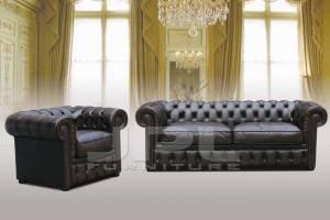 Кожаная мебель Chesterfield