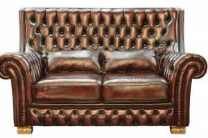 Кожаный диван DCS 9005 двухместный