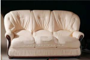 Кожаный диван Debora трехместный