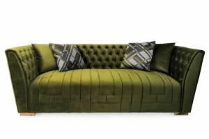 Диван 3-х местный UF-PM15 Охford luxe 26#