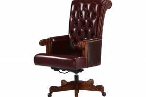 Рабочее кожаное кресло W1859-02