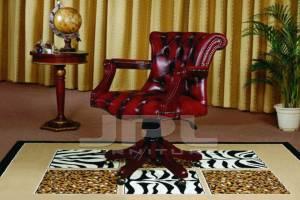 Кожаное кресло К-207, цвет 10#