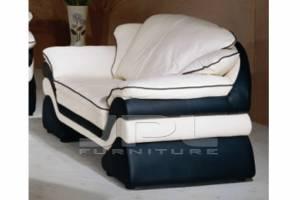Кожаный диван Miami двухместный без механизма
