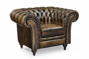 Кресло кожаное Chelsey
