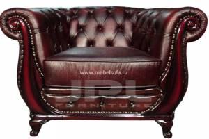 Кожаное кресло Oliver, цвет 10#