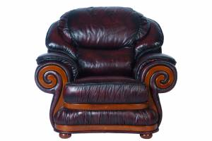 Кожаное кресло Swirl, цвет 10#