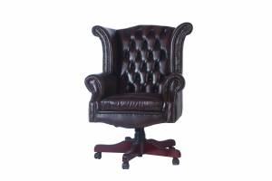 Кожаное кресло К-206, цвет 08#
