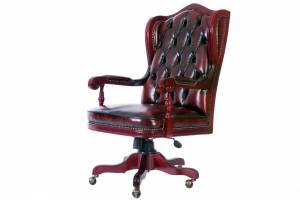 Кожаное кресло К-210, цвет 10#