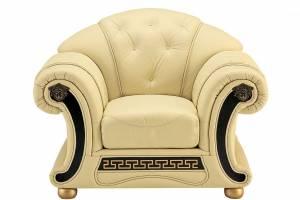 Кожаное кресло Versace, цвет 02#